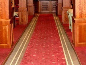 carpet cleaning in church
